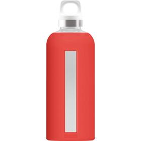 Sigg Star Glass Drinking Bottle 500ml, scarlet